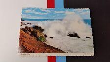 Pounding surf , La Maree , Harold Orne,Canada Postcard post card