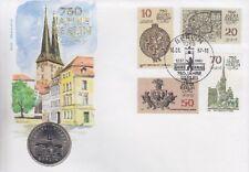 DDR Numisbrief 5 Mark Nikolai Viertel 1987, 750 Jahre Berlin