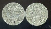 MAROC 50  centimes 1924  POISSY