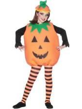 Costume de Citrouille,Enfant,ENFANTS Déguisement Halloween,Taille Unique,Unisexe
