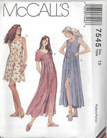 McCall's 7545 Misses' Dress in Two Lengths   Sewing Pattern