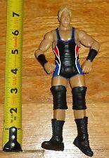 2010 WWF WWE Mattel Real American Jack Swagger Wrestling Figure Black Singlet