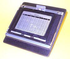 "Linhof Technika 4x5"" to 2x3"" conversion back for 4x5""  ...or? (See description)"