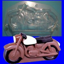 Schokoladenform -Gießform - Motorrad Nostalgie 16cm
