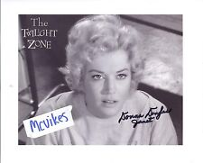 "Donna Douglas ""The Twilight Zone"" Autographed 8x10 Photo #2 COA as ""Janet Tyler"""