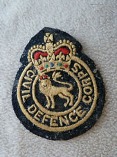 Patch badge - Civil Defence Corps xxx