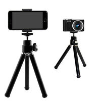 Flexible Tripod Stand Brackets Holder For Small Camera Camcorder Webcam Phone  #
