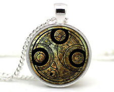 BBC - DOCTOR WHO Inspired Necklace Gallifreyan