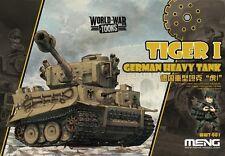 Meng Model WWT001 German Heavy Tank Tiger I (Q Edition)