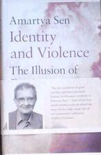 Amartya Sen, Identity and Violence : The Illusion of Identity (2006) Hardback