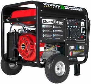 Dual Fuel Portable Gas Propane generator RV 50AMP EPA DuroStar-DS10000EH NEW