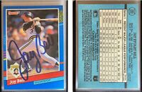 Jay Bell Signed 1991 Donruss #289 Card Pittsburgh Pirates Auto Autograph