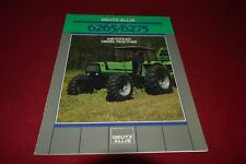 Deutz Allis Chalmers 6265 6275 Tractor Dealer's Brochure YABE19