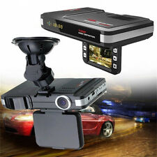 "TFT 2.0"" LCD 2 In 1 Car Camera DVR Dash Cam Recorder Radar Laser Speed Detector"
