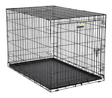 Contour  Extra Large  Steel  Dog Crate  Black  33 in. W x 31.9 in. H