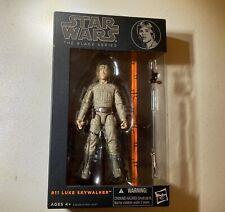 Hasbro Star Wars Series 11 Luke Skywalker Figure Black Series Orange Line 6in