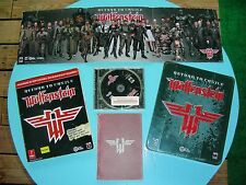 Return to Castle Wolfenstein Ltd Ed (PC) w/Tin, Game, Manual, Poster + MORE!!