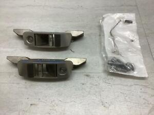03-08 BMW Z4 E85 Convertible Soft Top Roof Latch Locks - Pair