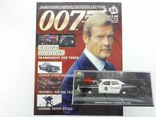 James Bond Collection Heft 55 Dodge Monaco Roger Moore 007 OVP 1603-30-73
