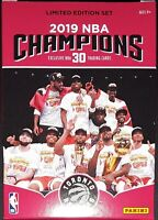 2019 NBA Champions TORONTO RAPTORS - Limited Edition Set (1-30) - Pick Your Card