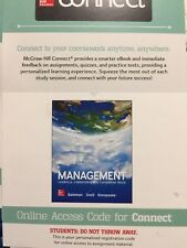 Connect Access Card for Management 12th Edition