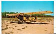 Undated Unused Postcard Airplane 1918 Curtiss JN4 D Jenny WWI aircraft