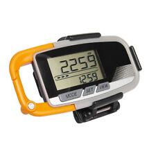 3D Schrittzähler Pedometer Beschleunigungsmesser Entfernungsmesser Kalorien NEU