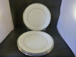 "Noritake Glenabbey Set of 4 Dinner Plates, 10 1/2"", Great Condition"