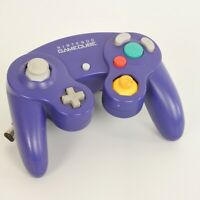 Game Cube Official Controller Pad Violet Nintendo Game Ref 1462