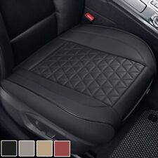 Black Panther Luxury PU Leather Car Seat Cover Cushion Front Seat Bottom With -