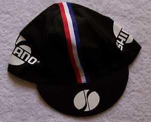 Shimano Team Cycling Cap - Bike Hat - White or Black Free Shiping !!