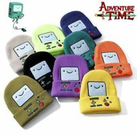 Adventure Time with Finn and Jake Beanie Knit Hat Stretchy Cap Cosplay Womens