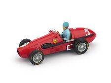Ferrari 500F2 A. Ascari 1953 #5 Winner British GP with Driver 1:43 Model BRUMM