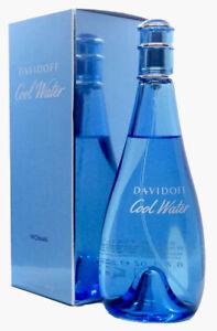 DAVIDOFF Cool Water Woman 200ml Eau De Toilette EDT & ORIGINALVERPACKT