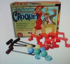 Miniature Table Croquet, New Sealed Fun On Game Night