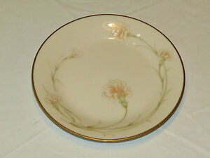 """Noritake Ivory China 7248 Weyburne Japan Bread Plate 6 1/4"""" gold excellent *^"""