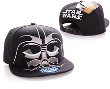 OFFICIAL STAR WARS - DARTH VADER CLOSE UP MASK SNAPBACK CAP HAT (BRAND NEW)