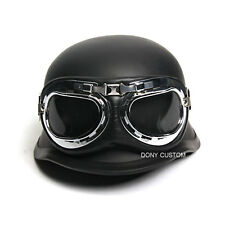NEW World war II Military retro German helmet include goggles