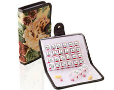 Tapestry Wallet 7 daily pill medication boxes - one per day - don't miss a dose