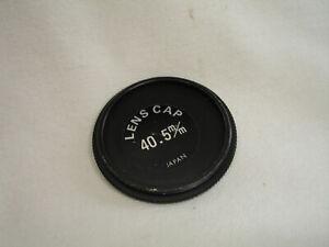 40.5mm metal screw in front lens cap , Vintage, Japan