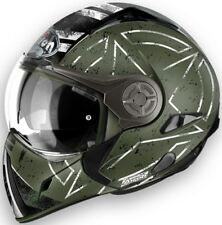 Casco helmet CROSSOVER OMOLOGAZIONE P/J airoh j106 command VERDE opaco taglia XL