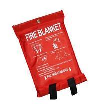 QUICK RELEASE KITCHEN CARAVAN FIRE BLANKET 1m x 1m