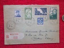 enveloppe au départ de Monte-Carlo en 1938
