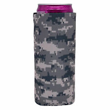 Digital Camo Pattern Slim Can Coolie; Compatible with Ultra