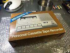 Vintage Realistic Minisette-9 Cassette Tape Player Recorder 14-812 NM In the BOX
