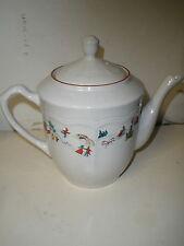 Farberware WHITE CHRISTMAS Teapot Tea Pot or Coffee Pot