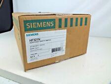 New SIEMENS HF321N 30 Amp 240VAC Single Throw Safety Switch 3P