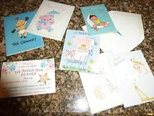 Lot of 120 Vintage Holiday Cards Scrapbooking Crafts Gift Tags Great Graphics