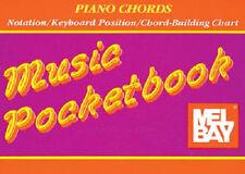 MEL BAY PIANO CHORDS MUSIC POCKET BOOK PIANO CHORD MUSIC