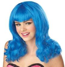 Blue Sensation Pop Star Wig New by California Costumes 70068